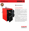 Picture of Wood Burning Boiler BIODOM 25