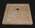 Εικόνα της Ντουζιέρα Τραβερτίνο 80x80 cm