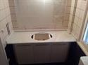 Picture of Πάγκος μπάνιου από μάρμαρο Κοζάνης Λευκό Νο 1