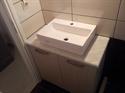 Εικόνα της Πάγκος μπάνιου από μάρμαρο Κοζάνης Λευκό Νο 2