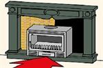 Picture for category Wood Inserts for Excisting Fireplaces